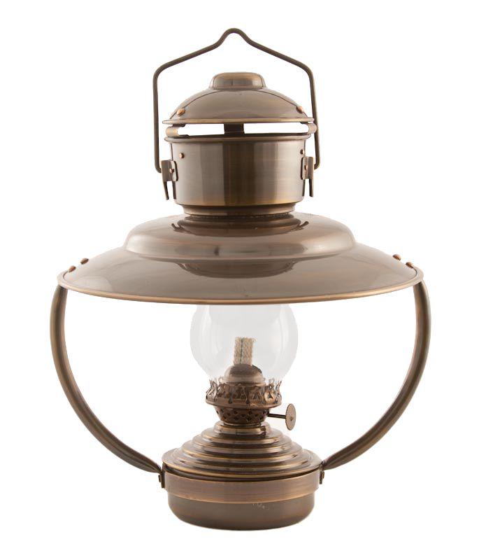 Oil Lantern Antique Patio Lamp LampsAntique BrassKerosene