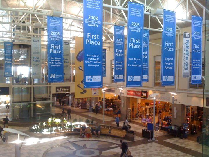 Halifax Stanfield International Airport (YHZ) in Enfield, NS