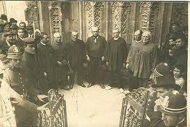 Foto antigua del Tribunal de las Aguas