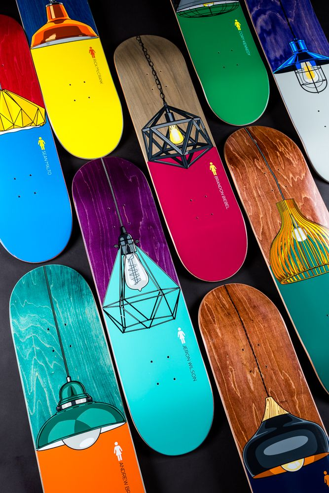 597947d0 Which deck from the Girl Skateboards Illuminated series shines the brightest