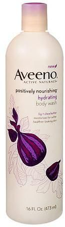Aveeno Active Naturals Positively Nourishing Body Wash Hydrating Fig + Shea Butter