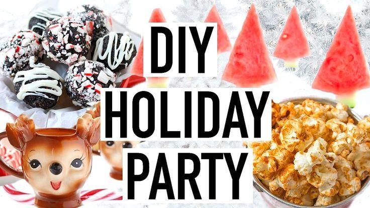 DIY Holiday Party! DIY Christmas Party 2016!