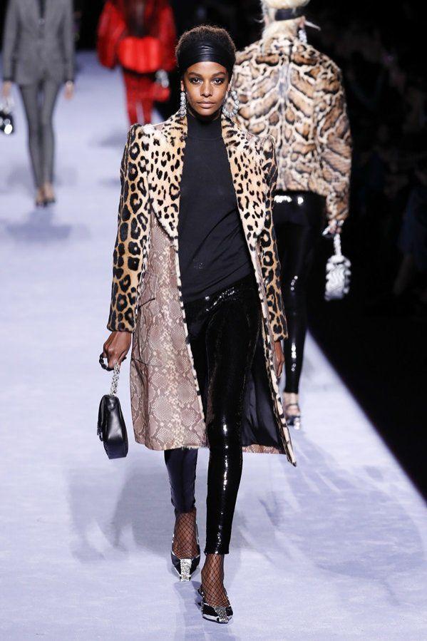 Tom Ford Jesien Zima 2018 19 Pokaz Kolekcji 9 Fashion Winter Jackets Women