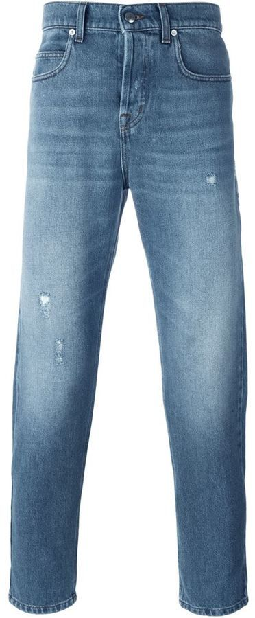 McQ Alexander McQueen tapered jeans
