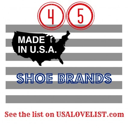 American-made shoes are hard to find, but not impossible! Don't miss this list of 45 sources for shoes made in the USA.
