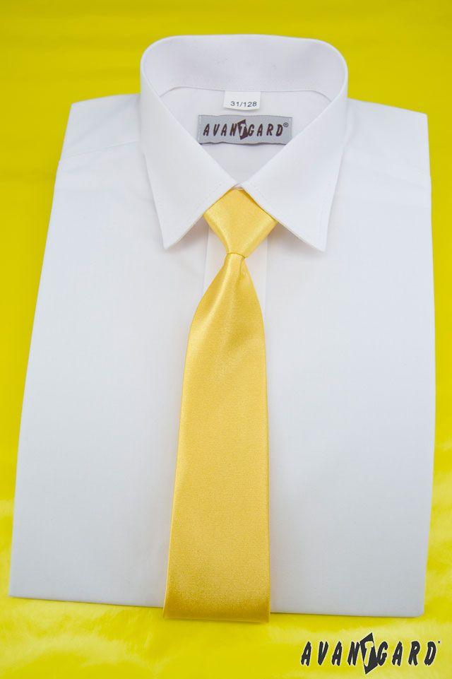 Žlutá inspirace nejen na svatbu / Yellow (wedding) inspiration chlapecká kravata / Yellow boys tie