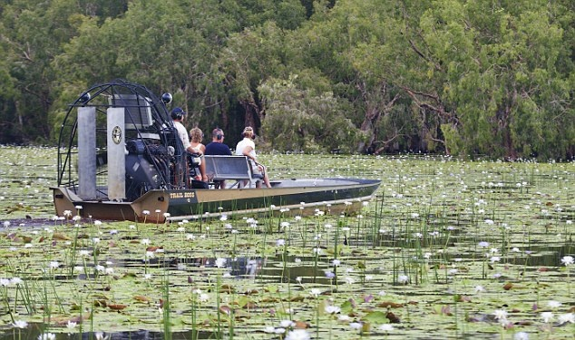 Bamurru Plains airboat ride in Australia, Northern Territories