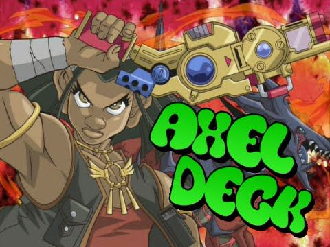 Axel's deck does put the heat on the opponents with a blazing Vulcanic monster…
