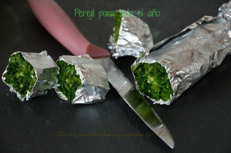 No te pierdas este truco de cocina para tener siempre perejil a mano. ¡Es muy sencillo!