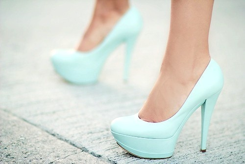 Pump, Turquoise and Pastel on Pinterest