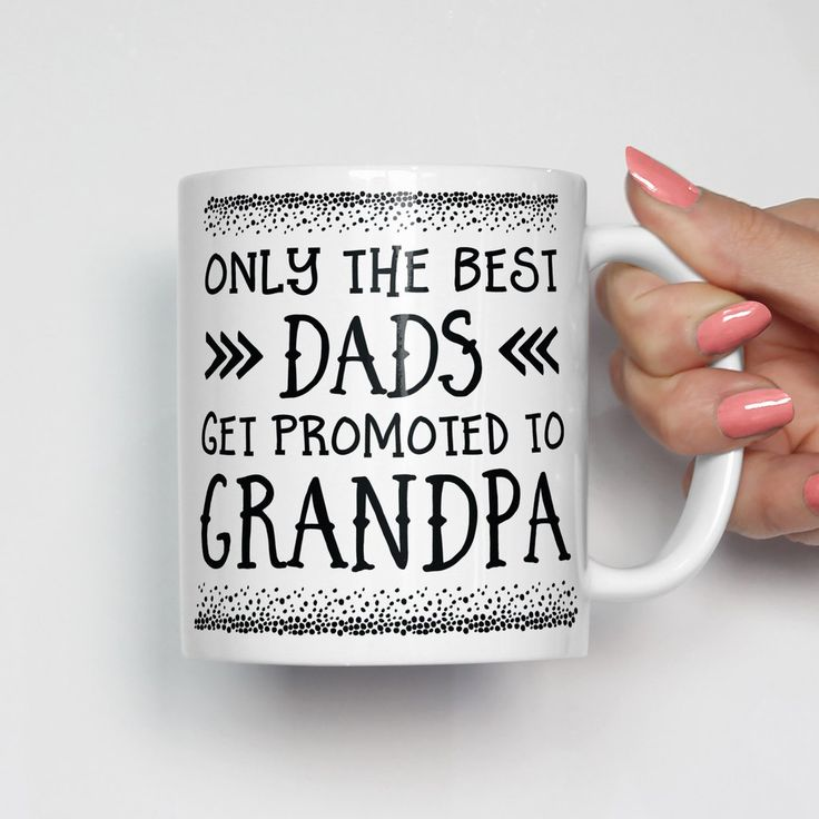 Only The Best Dads Get Promoted To Grandpa Mug - Fathers Day Gifts, Fathers Day Mugs, Gift for Dad, Gift for Grandpa, Dad Gifts, Grandpa Gifts, Dad Mugs, Grandpa Mugs, Mug for Dad, Mug for Grandpa, Christmas Gift for Grandpa, Grandpa Christmas Gift, Grandpa Stocking Stuffer, Present for Grandpa, Grandpa Presents, Grandpa Coffee Mug
