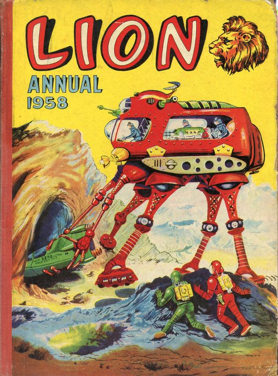 Lion Annual 1958 by ItsYesterdayOnceMore on Etsy, £10.00