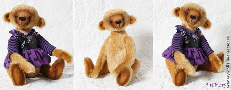 Вашему вниманию предлагается мастер-класс по шитью медведя по моей авторской выкройке. Я не стала называть мастер-класс 'по изготовлению мишки Тедди', так как всегда найдутся мастера, утверждающие, что 'настоящий Тедди шьется по другой технологии'. Поэтому мой мишка просто интерьерный. Дотошных и очень продвинутых в шитье медведей сразу хочу попросить не комментировать: 'а вот Вы не так пришиваете', 'а почему у мишки глаза не подходят к морде', 'а у…