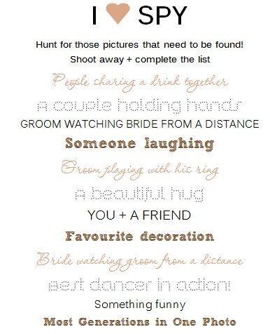 wedding photo scavenger hunt cards template by jmeyskens on etsy 11