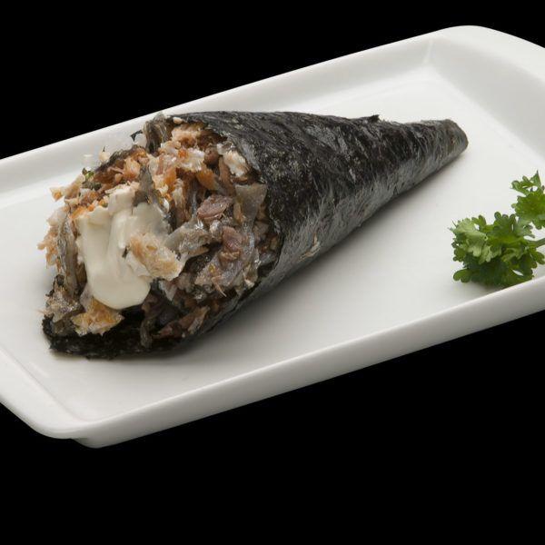 Salmão Skin com Cream Cheese. Sushi Rão, o Maior Delivery de Sushi RJ