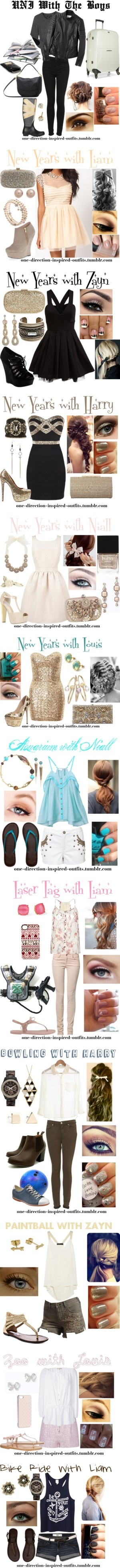"""One Direction Inspired Outfits and Imagines"" by one-direction-inspired-outfits ❤ liked on Polyvore"