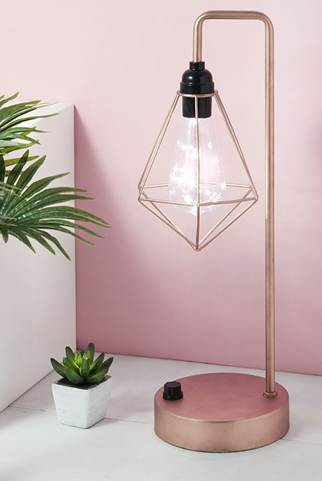 PRIMARK HOME LIVING ACCESSORIES HOMEWARE LIVING DECOR COPPER ACCESSORIES LIGHTING