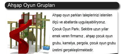 çocuk oyun grupları üretimi-ivedik osb - Ankara