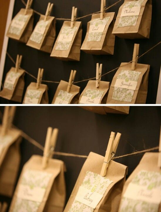 Wedding favours. Seeds? Mini candle jars to sow in later?
