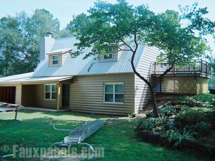 17 best ideas about log siding on pinterest log cabin for Log siding house plans