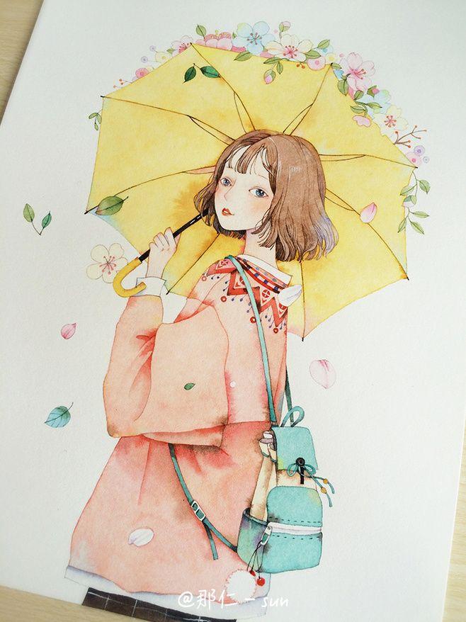 watercolor drawings