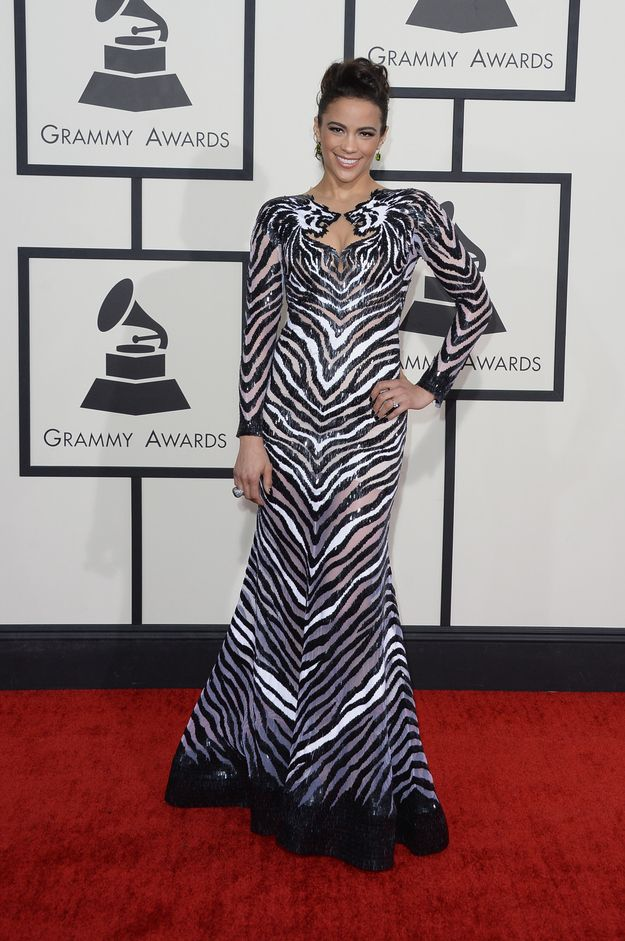 Paul Patton | Fashion On The 2014 Grammy Awards Red Carpet
