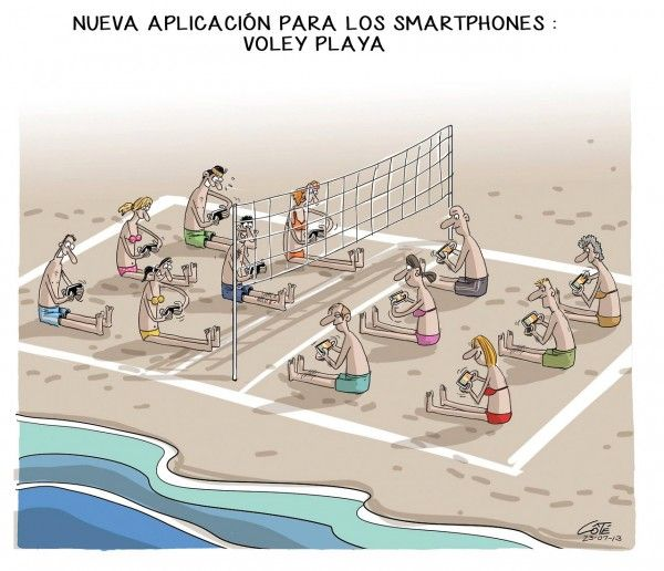 Smartphones: Voley Playa