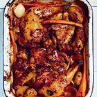 Een heerlijk recept: Geroosterde kip met rode wijn