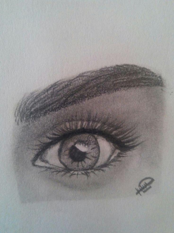 #draw #pencildrae #eyes #humaneyes #drawing #art #realisticeye #perfecteye #music #life #love #girls  #eyebrowns #tumblrdraw #tumblr #pinterest #weheartit