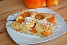 Vanille-Marillenkuchen