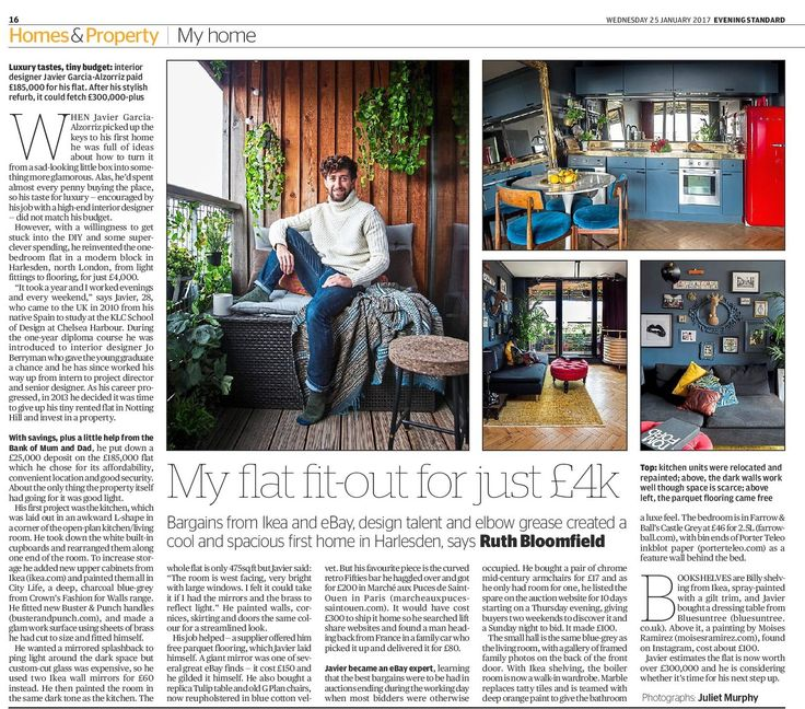 Awesome Feature On KLC Alumni Javier Garcia Alzorrizs Stunning Budget Renovation Of His North West