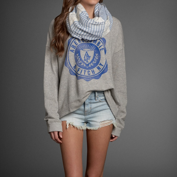 Womens Lightweight Spring Scarf | #ABERCROMBIEHOT | Abercrombie.com