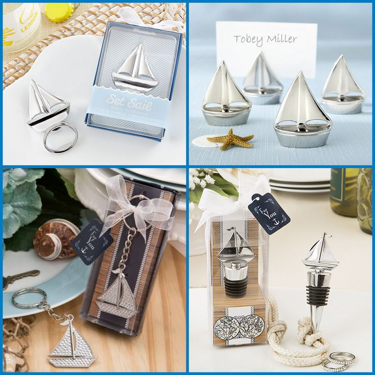 Sailboat Party Favors from HotRef.com