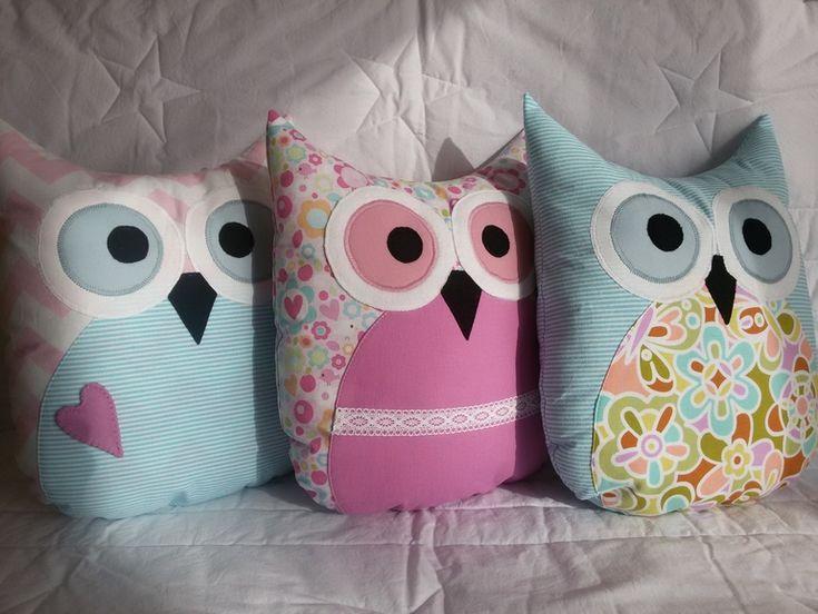 Декоративные подушки-игрушки совушки - Магазин HandMade: покупка, продажа, заказ. - Babyblog.ru