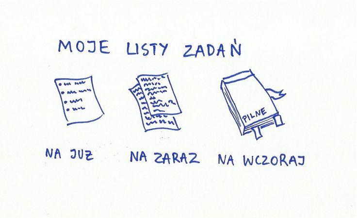 Listy, listy zadań robimy! http://www.paniswojegoczasu.pl/techniczny-wtorek/lista-zadan-kobiece-zmory/