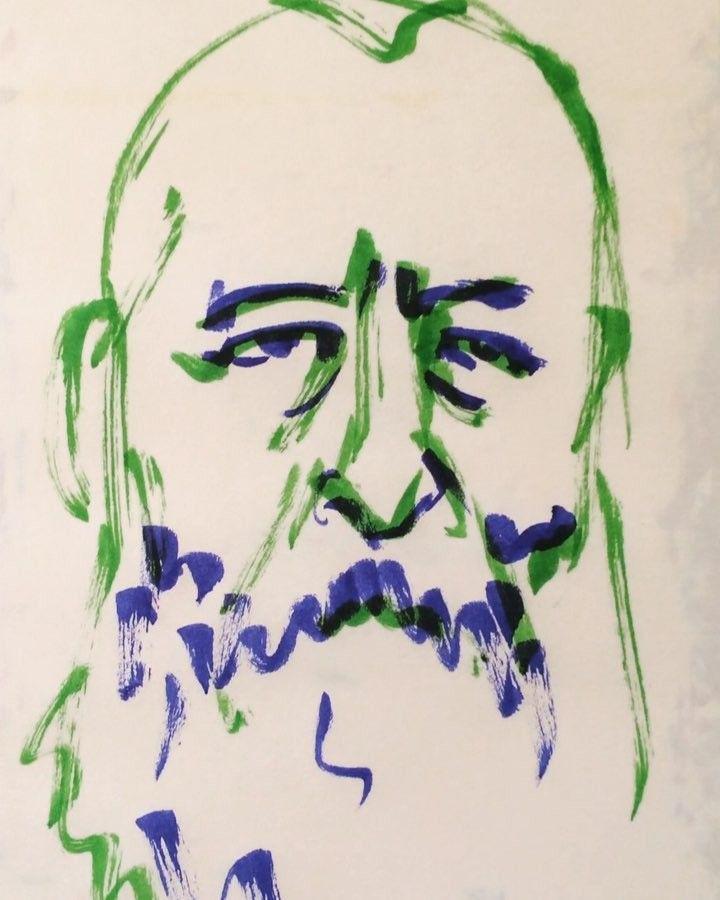 いいね!31件、コメント3件 ― @1mindrawのInstagramアカウント: 「#claudemonet #クロードモネ #painter #画家 #18401114 #birthday #1mindraw #一分描画 #誕生日 #portrait #似顔絵…」