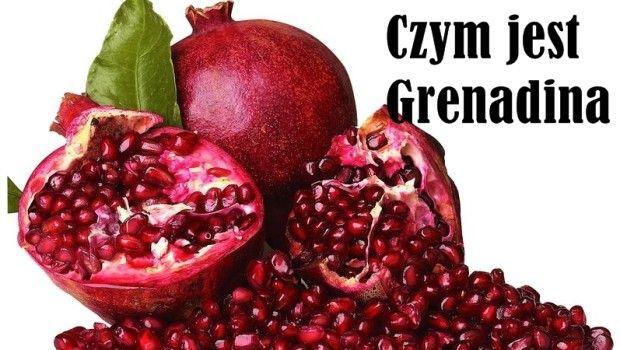 Syrop barmański grenadina