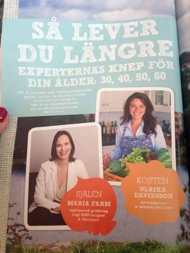 Ulrika Davidsson i Expressens Min Hälsa