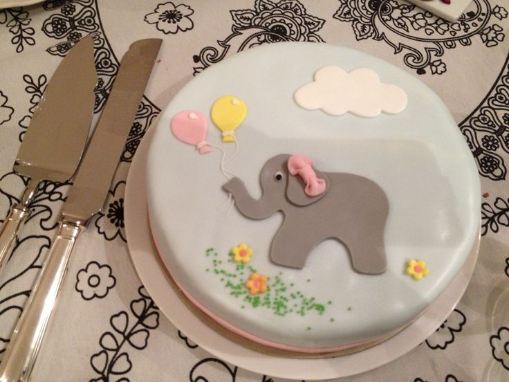 Τούρτες Γενεθλίων - Ελεφαντάκι! #sugarela #TourtesGenethlion #elefantaki #BirthdayCakes #elephant