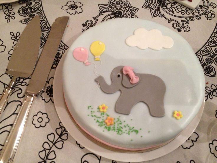 Τούρτες Γενεθλίων - Ελεφαντάκι! #sugarela #TourtesGenethlion #elefantaki #BirthdayCakes #elephant