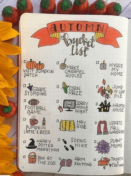 super 13 Wunderschöne Aufzählungszeichen im Herbst