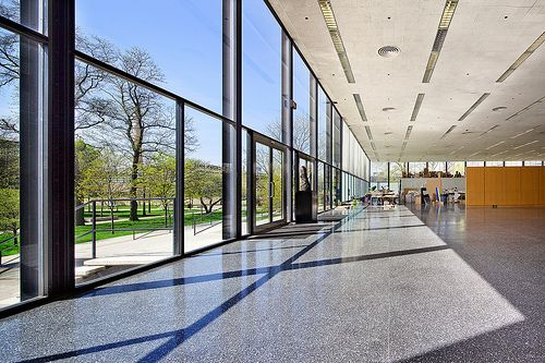 Ludwig Mies van der Rohe (1886-1969) | S.R. Crown Hall  | IIT Campus (Illinois Institute of Technology) | Chicago Illinois | 1950-56