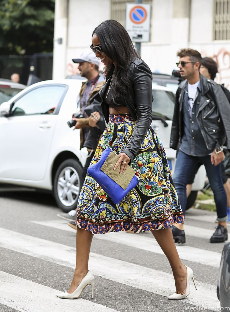 Fashion street style milan dolcegabbana shionaturini she 39 s got the look pinterest African fashion street style