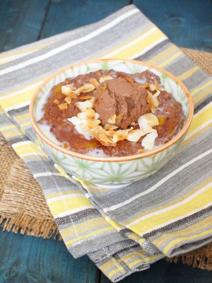 The 25 best recipe creator ideas on pinterest salsa verde double chocolate mango oatmeal with toasted coconut forumfinder Gallery