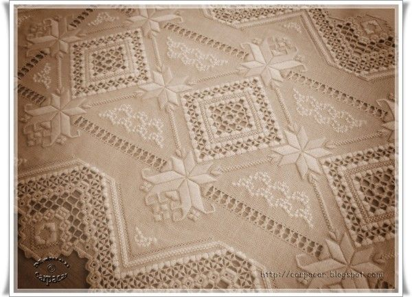 What a stunning piece of work. The web site offers patterns for some lovely pieces of work and is worth checking out.