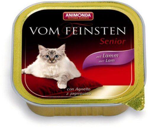 Aus der Kategorie Animonda  gibt es, zum Preis von EUR 30,92  Ältere Katzen stellen ab dem siebten Lebensjahr besondere Anforderungen an die Nahrung. Vom Feinsten Senior ist mit seinen leicht zu kauenden Fleisch-Spezialitäten genau an diese Nährstoffansprüche von Senior-Katzen angepasst.<br /> <br /> Zusammensetzung:<br /> Rind63% Fleisch und tierische Nebenerzeugnisse (24% Rind, Schwein, Huhn), Brühe, Mineralstoffe.Geflügel63% Fleisch und tierische Nebenerzeugnisse (20% Geflügel, Schwein…