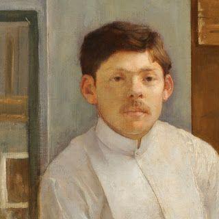 Ferenczy Károly: Kallós Ede arcképe, 1889 (MNG)