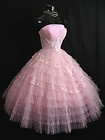 1950's dress, it looks a lot like my sister's formal.: 1950 S Inspirations, 1950 S Dress Love, Camper Lust, Bridal Shower, Wore Dresses, Camping Ideas, 1950 S Dress I, 1950 S Vintage