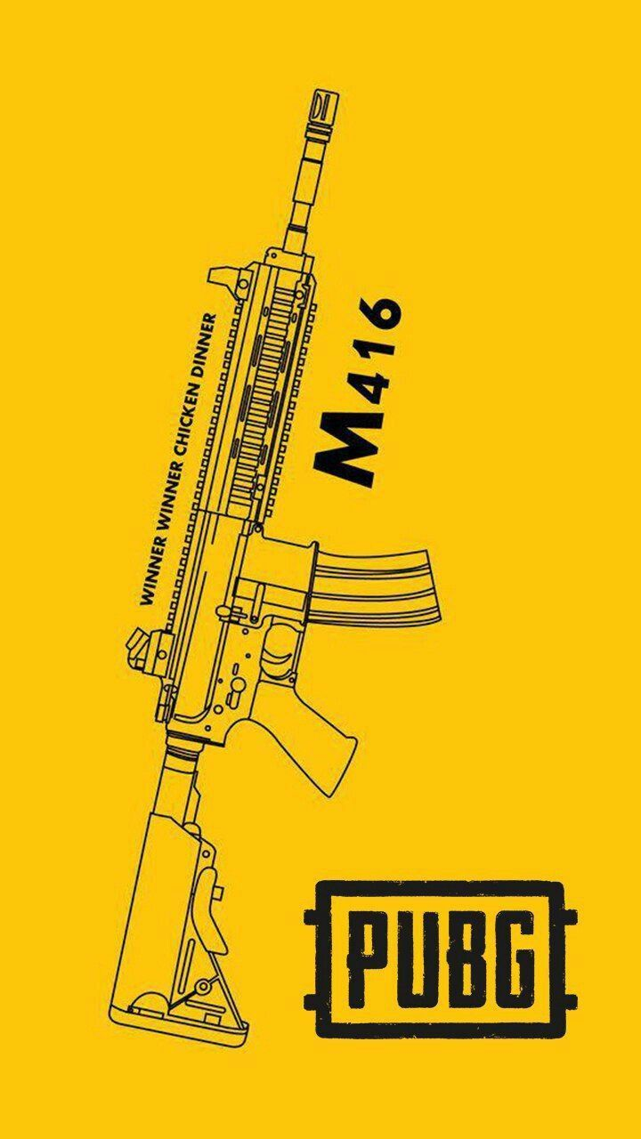 M416 Pubg A Mobile Wallpaper Hd Wallpapers For Mobile Mobile Wallpaper Android
