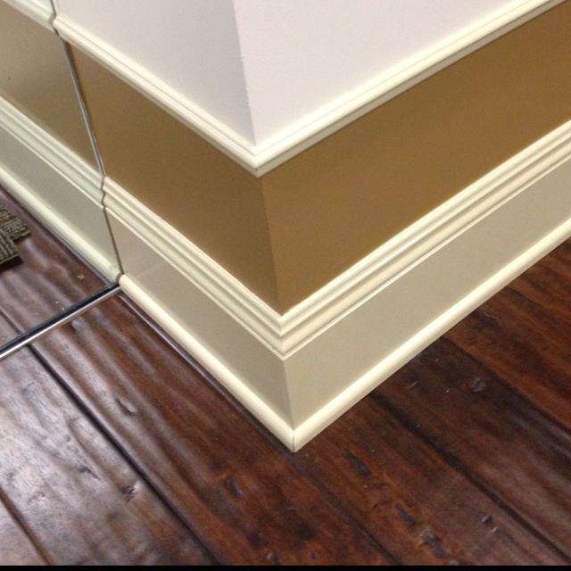 Nothing like a shoe moulding to help transition base above for Hardwood floors uneven